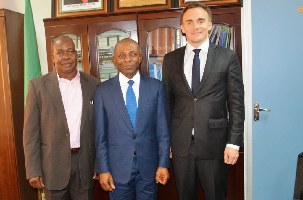 OAuGF AND IFAD TO EXPLORE AREAS OF PARTNERSHIP