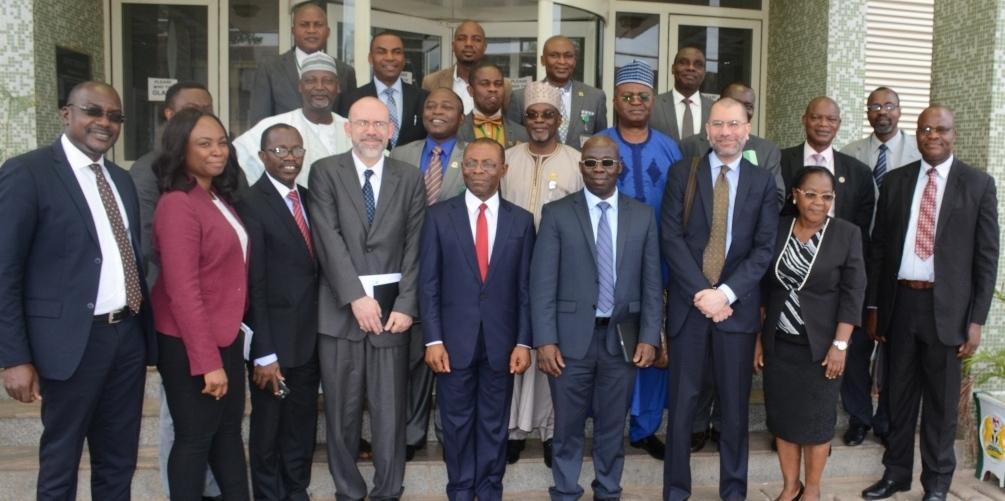 World Bank Governance team visits AuGF
