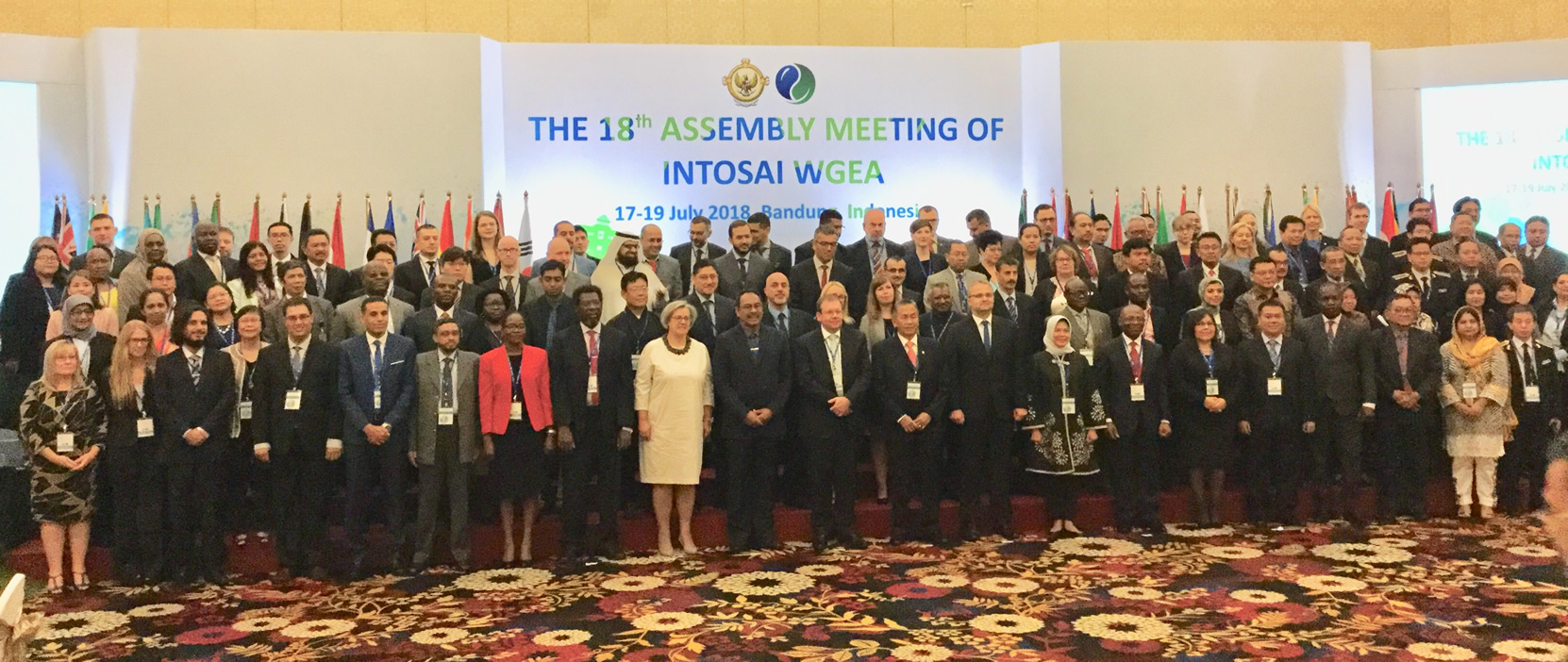 Assembly Meeting of INTOSAI WGEA in Bandung Indonesia
