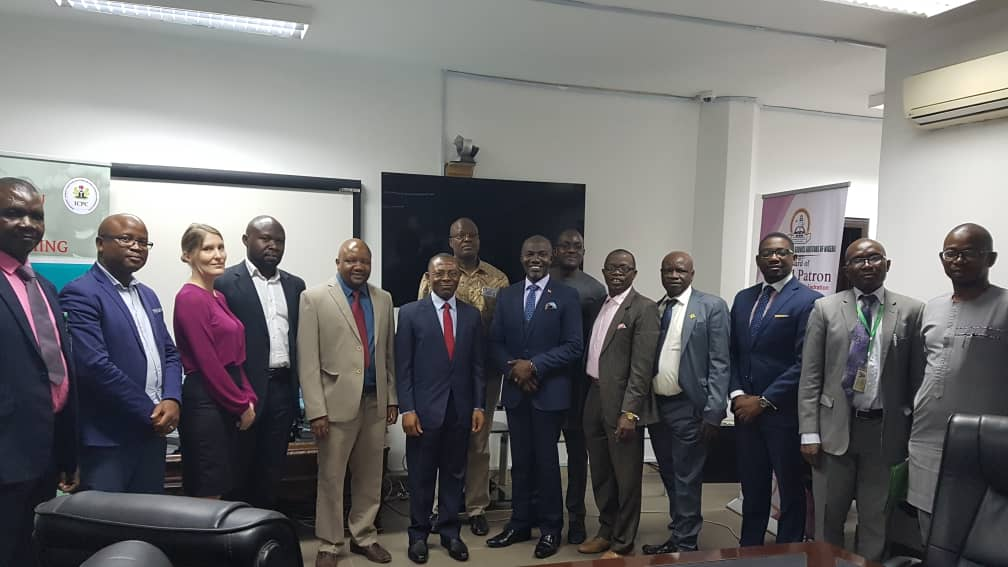 AFROSAI-E team pay visit to the OAuGF for FAM and CAM technical support.