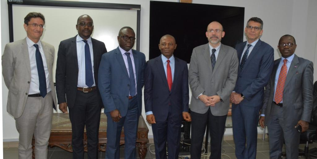 World Bank Officers visits OAuGF